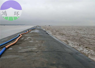 Shoreline Protection Geotextile Tube Dewatering Biplate Mattress Style